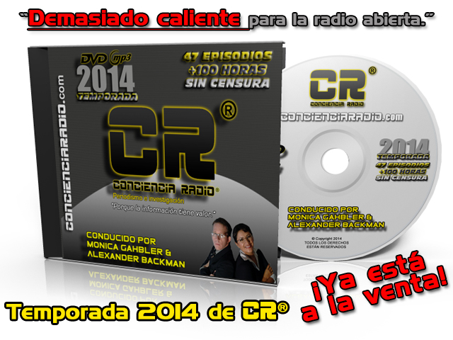 DVD CONCIENCIA RADIO TEMPORADA 2014