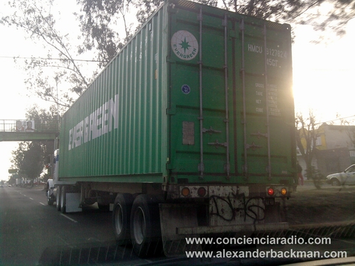 Evergreen Trailer in Mexico