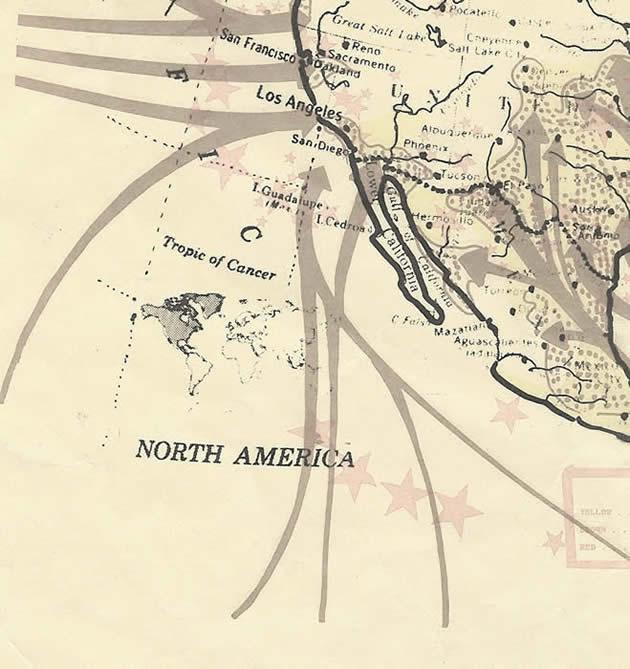 Resultado de imagen para mapas de la invasión comunista, católico memorandum profético