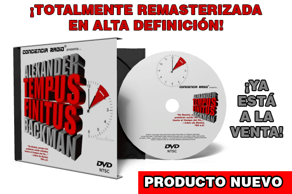 TEMPUS FINITUS CONFERENCIA EN DVD ALEXANDER BACKMAN
