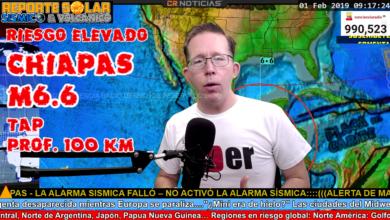 Photo of FUERTE TERREMOTO M6.6 SACUDE CHIAPAS MÉXICO FEB 1 2019