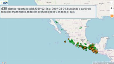 Photo of INTENSA OLEADA DE +630 SEÍSMOS SACUDEN MÉXICO EN UNA SEMANA